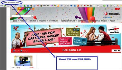 membuat web resmi tips menghindari penipuan undian telkomsel info saku
