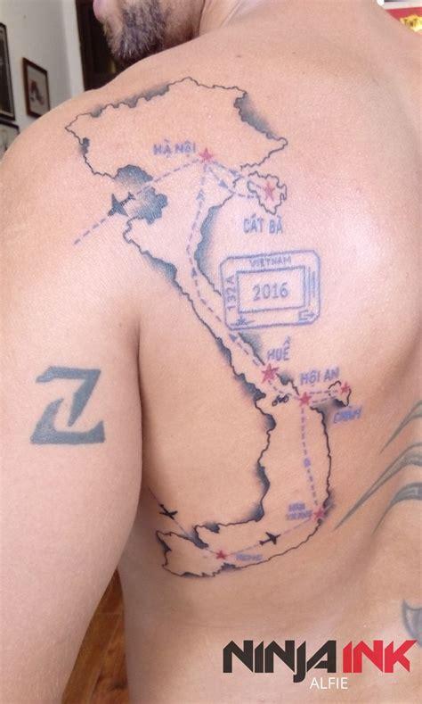 saigon tattoo 12 best landscape tattoos images on landscape