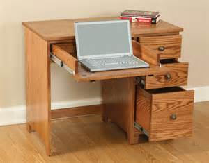 Computer Desk For Laptop Economy 3 Drawer Laptop Computer Desk Ohio Hardwood Furniture