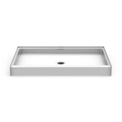 best bath shower pans curbed shower pan seamless 60x34 best bath showroom