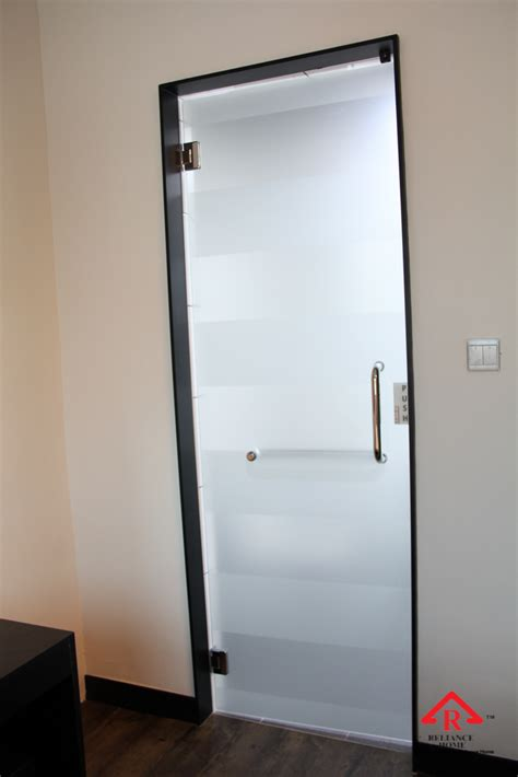doorway swings swing glass door frosted swing glass door in singapore