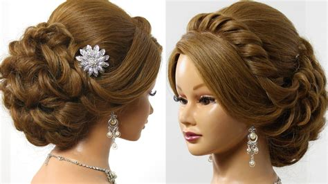Wedding Prom Hairstyles For Medium Hair by Bridal Wedding Updo Hairstyle For Medium Hair With