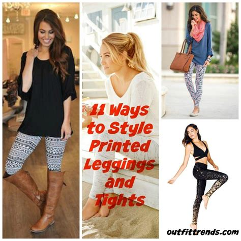 what to wear with patterned leggings outfits with printed tights ideas how to wear patterned