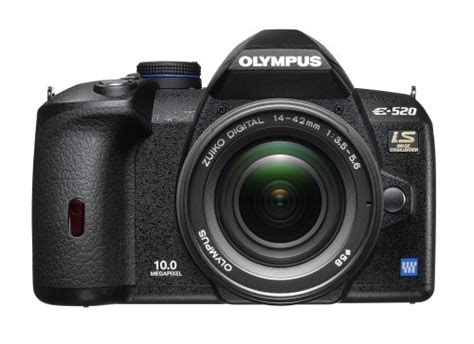 Kamera Dslr Olympus E520 olympus evolt e520 10mp digital slr with image stabilization w 14 42mm f 3 5 5 6 zuiko