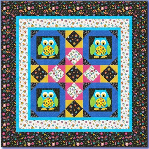 quilt inspiration free pattern day owls