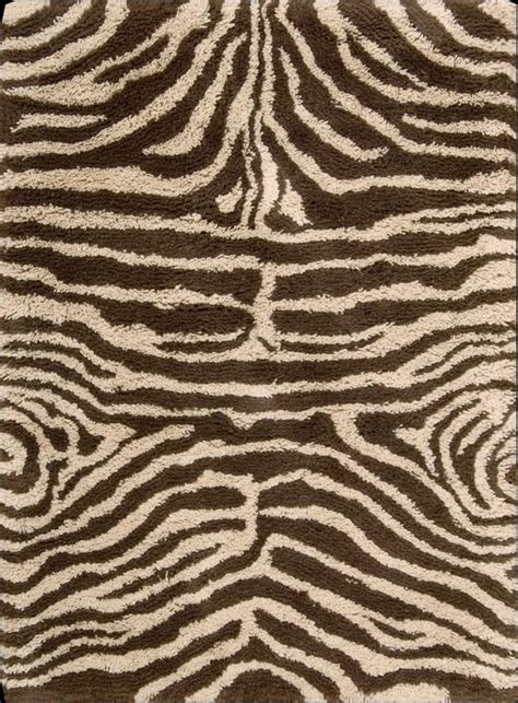Patterned Shag Rug by Nourison Splendor Collection Animal Magnetism Comes Home