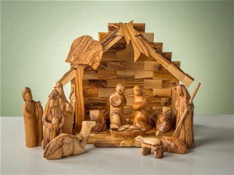 small nativity figures the finest olive wood ornaments nativities and crosses from the holy land