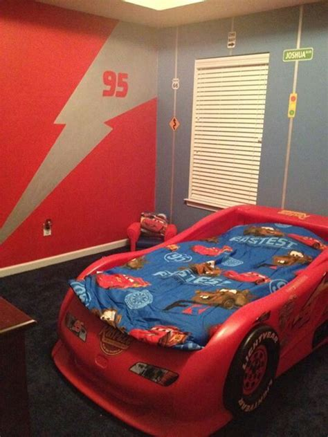 lightning mcqueen room boys room