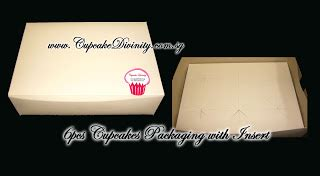 Box Cupcake 6pcs cupcakedivinity cakes cupcakes decorations