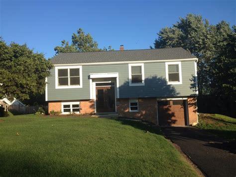 bi level house exterior renovations bi level house exterior renovation midcentury exterior philadelphia