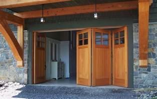 custom side folding garage doors contemporary garage
