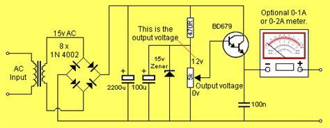 Kit Regulator Ac Dc 12v Ke Dc 9v Converter rangkaian power supply 2 ere skema elektro ku