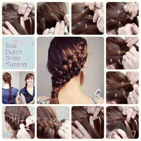braid lol it s a simple way to do 2 french braids on thick medium 10 ways to make lovely diy side hairstyles pretty designs