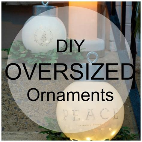 oversized outdoor ornaments home  garden