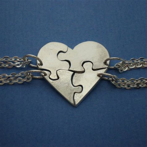 shaped jigsaw puzzle necklaces personalized your