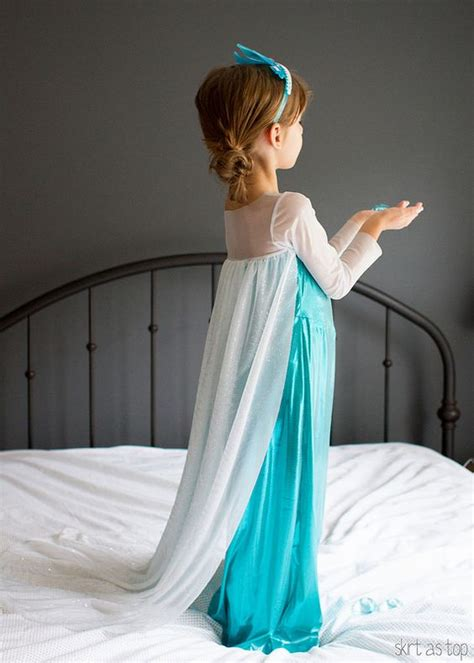 Elsa Handmade Costume - handmade elsa costume skirt as top a modern thread
