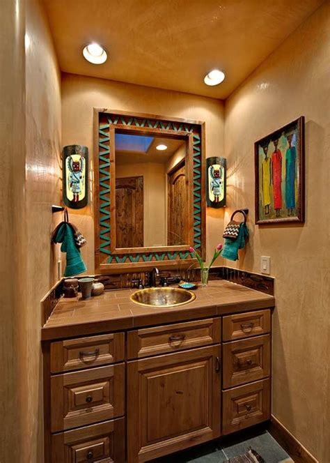 Western Bathroom 25 Southwestern Bathroom Design Ideas