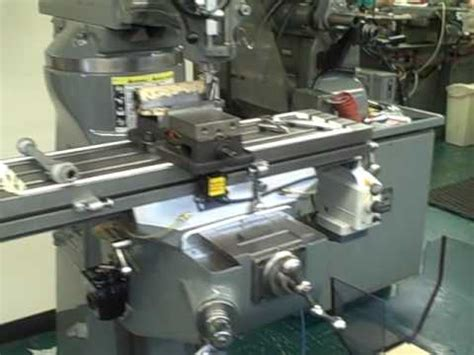 bridgeport milling machine youtube
