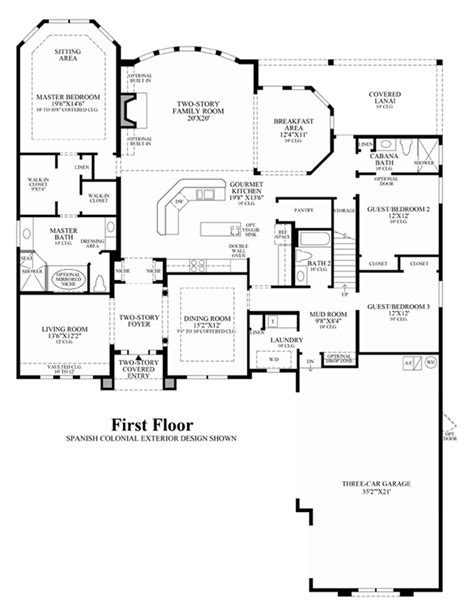 westin homes floor plans coastal oaks at nocatee estate signature collections