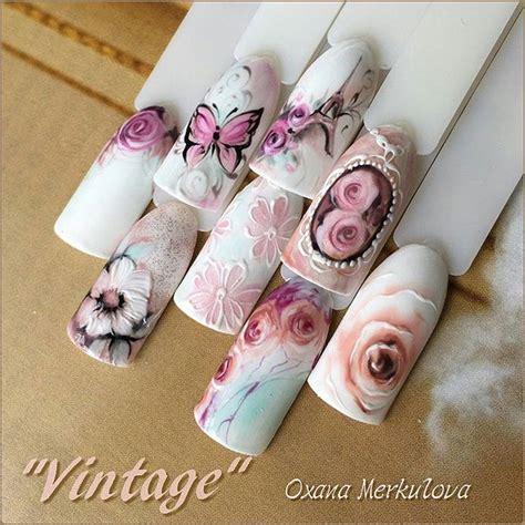 Vintage Nail Designs