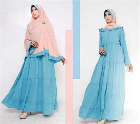 baju gamis set bergo miss karaya y81 busana muslim syarii by pop up