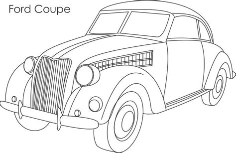 coloring pages of ford cars ford old colouring pages