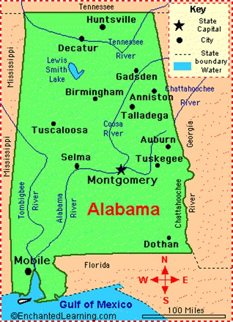 united states map alabama alabama counties road map usa
