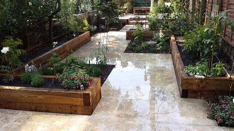 Garden Patio Design Travertine Paving Patio Modern Garden Design Landscaping Earlsfield Wandsworth Archives