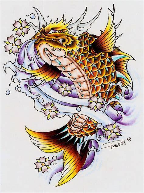 dragon koi tattoo designs best 20 koi ideas on koi