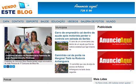 Blogger Unik | 20 template blog keren unik dari brasil contoh blog