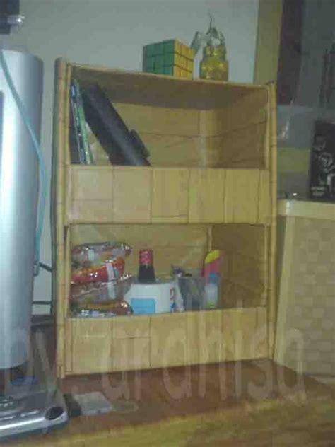 cara membuat rak buku dengan autocad membuat lemari dari kardus bekas oleh ar dhisa
