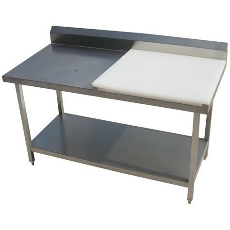 stainless top kitchen table china stainless steel kitchen work table worktop with chopping board photos pictures made in