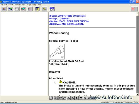 service manuals schematics 2003 ford windstar free book repair manuals repair manual 1995 2003 ford windstar rar