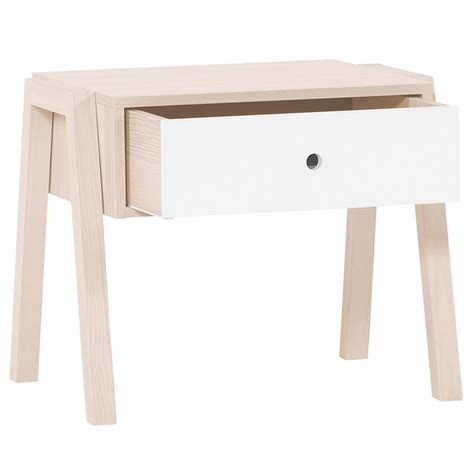 White Spot In Stool by Spot Stool Bedside Table In Acacia And White Dining Chairs Cucko