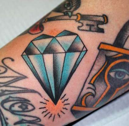 tattoo diamond old school informacion fotos 5 simbolos para tatuajes de la buena