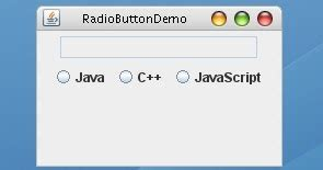 advantages of swing in java how to add radio buttons to a swing frame in java using
