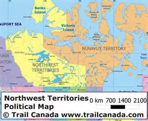 canada map territories physical map of northwest territories canada