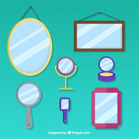 imagenes tipo vector diferentes tipos de espejos descargar vectores gratis