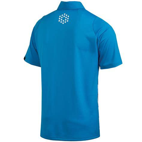 swing golf shirts puma golf 2014 mens duo swing graphic tech polo shirt