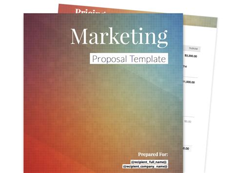 free marketing consultant template free business templates