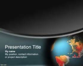 Global Powerpoint Template by Cimate Change Powerpoint Template