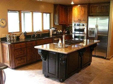 kitchen island different color than cabinets different color top and bottom kitchen cabinets