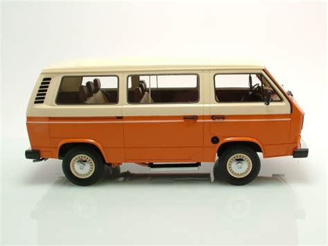 Vw Auto Premium by Vw T3 Bus Orange Beige Modellauto 1 18 Premium