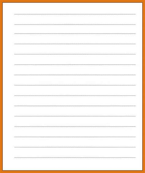 lined paper template letter format business