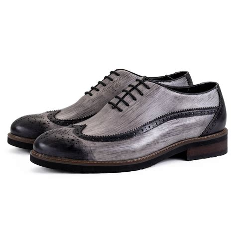 retro oxford shoes light grey retro oxford shoes ownonly