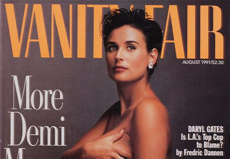 Demi Vanity Fair 1991 1991 vanity fair cover featuring demi named