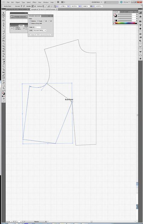pattern drafting illustrator using adobe illustrator for flat pattern drafting tien chiu