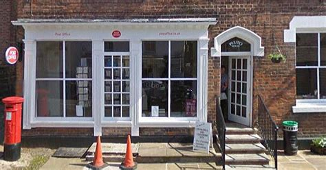 Hshire Post Office by Tattenhall Post Office To Its Doors Chester Chronicle