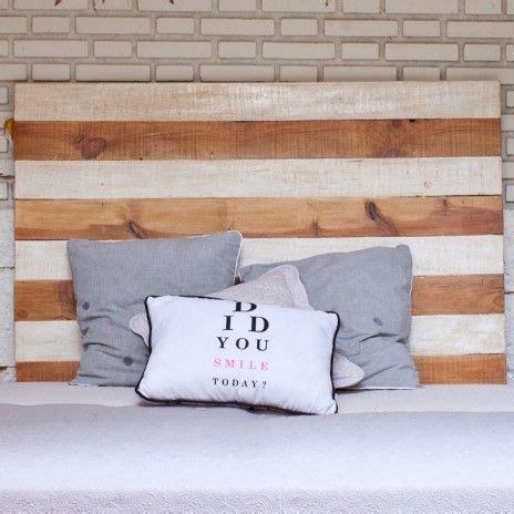 cabecero tablas madera medidas y cabeceros de cama con tablas de madera gallery of