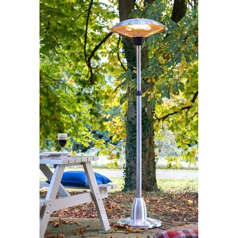 La Hacienda Patio Heater La Hacienda Standing Halogen Electric Patio Heater La Hacienda From Powerhouse Je Uk